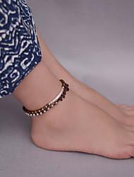 женщина серебристого сплава древесины фермуар омара ножной