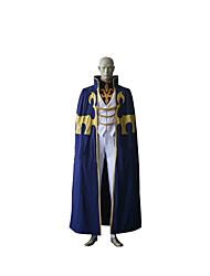 Costumes de Cosplay Cosplay Fête / Célébration Déguisement Halloween Bleu Encre Couleur PleineManteau / Gilet / Pantalon / Plus