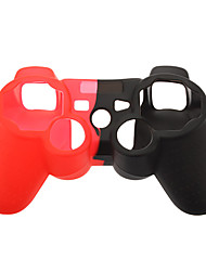 Silicone Skin Case for PS3 Controller (Assorted Color)
