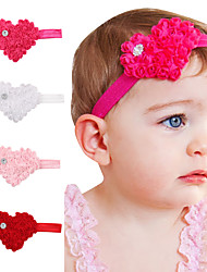4Pcs/set Cute Baby Valentine's Day Heart-Shaped Hair Headband Lovely Kids Hair Accessories