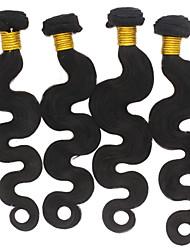 3 Piezas Ondulado Grande Cabello humano teje Cabello Brasileño 300g 8-30 inch Extensiones de cabello humano