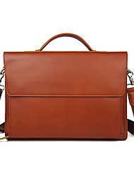 Europe and the United States men's Retro business casual leather casual bag