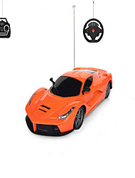 Car Racing 1001 1:12 Brushless Electric RC Car 2.4G Orange Ready-To-Go Remote Control Car / USB Cable / User Manual