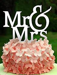 English letters acrylic wedding cake decoration birthday cake inserted card