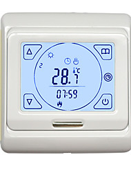 KC-667RH White Backlit Touch Screen Dual Temperature Dual Control To Warm Temperature Controller