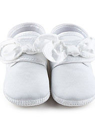 Girl's Flats Spring / Summer / Fall First Walkers Stretch Satin Wedding / Party & Evening / Dress / Casual Ivory