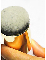 1 Foundation Brush Nylon Travel / Portable Plastic Face Others