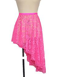 Latin Dance Skirts Women's / Children's Performance Nylon / Lace / Lycra Lace 1 Piece Skirt