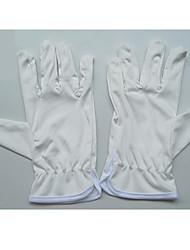 trois packs à vendre ultra-fine gants de fibres de gants en tissu propres gants blancs