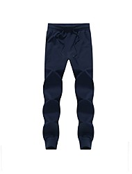 Running Pants/Trousers/Overtrousers Men's Breathable / Soft / Comfortable Cotton Golf / Leisure Sports / Running SlimIndoor / Outdoor