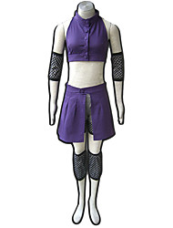 Naruto Anime Cosplay Costumes  Coat /Shirt/Shorts/Sleeves/Kneepad female