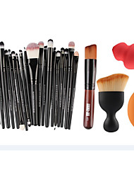 5 a combination suit 1 powder makeup brush