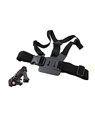 Accessoires pour GoPro Harnais Poitrine / Sangle de poitrine / Bretelles d'épaule Pratique, Pour-Caméra d'action Others 1Velcro /