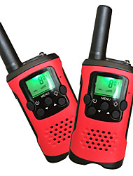 Kids Walkie Talkies 22 Channels and Back-lit LCD Screen (up to 6KM in open areas) Walkie Talkies for Kids (1 Pair) T48