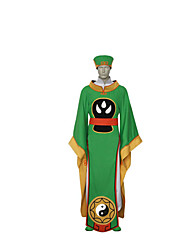 Costumes de Cosplay Zombie Fête / Célébration Déguisement d'Halloween Solide Manteau Ceinture Plus d'accessoires Fabrication CAP Unisexe