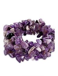 Bracelet Chaînes & Bracelets Cristal Anniversaire / Quotidien Bijoux Cadeau Violet,1pc