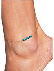 Femme Bracelet de cheville/Bracelet Cristal Simple Style Bijoux Pour Décontracté
