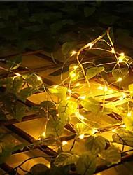 20-водить 2m водонепроницаемый штекер открытый свет украшения рождества праздник вел свет шнура
