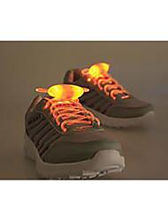 LED Light Up Термопластик для Шнурки Others Синий / Желтый / Зеленый / Розовый / Красный / Оранжевый