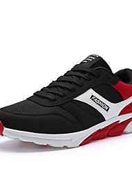 Men's Sneakers Summer Fall Light Soles Tulle Outdoor Athletic Low Heel Running
