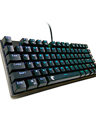 USB Gaming keyboard / Mechanical keyboard USB Green axis z-77