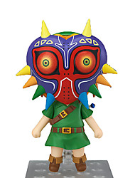 Figure Anime Azione Ispirato da The Legend of Zelda Link Anime Accessori Cosplay figura Verde PVC