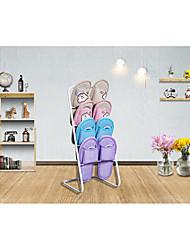 Материал не указан-Подошва-Полка / крючки для обуви(Черный / Коричневый / Белый)