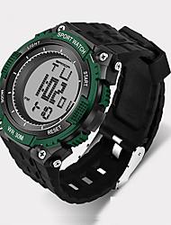 Hombre Reloj Deportivo / Reloj Militar / Reloj Smart / Reloj de Moda / Reloj de Pulsera Digital / Cuarzo JaponésLED / Cronógrafo /