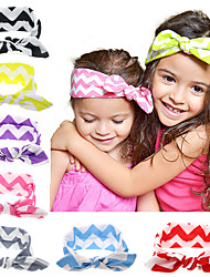 New Cute Born Baby Girls Cool Cotton Headband Elasticity Node Printing Children Girls Baby Hair Accessories
