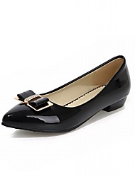 Women's Heels Spring Summer Fall Winter Comfort Novelty Patent Leather Microfibre Wedding Office & Career Dress Casual Party & Evening