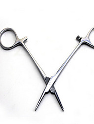 Cat / Dog Grooming / Health Care / Cleaning Scissor Pet Grooming Supplies Waterproof / Casual/Daily Silver Alloy