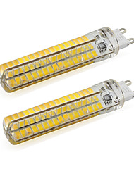 5W G9 LED à Double Broches T 136 SMD 5730 500 lm Blanc Chaud / Blanc Froid V 2 pièces