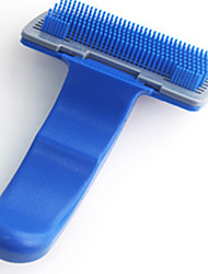 Cat Dog Grooming Health Care Cleaning Comb Casual/Daily Blue