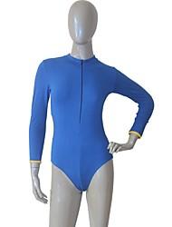 Ballet Leotards Women's / Children's Training Cotton / Lycra 1 Piece Long Sleeve Leotard