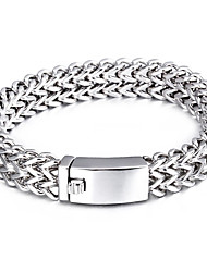 Kalen High Quality 316 Stainless Steel Link Chain Bracelets High Polished Mesh Bracelets For Men Cool Cheap Accessory Boyfriend Gifts
