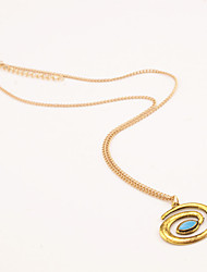 Fashion Small Pure and Fresh and Circle Necklace Sweet and Lovely Lady Necklace