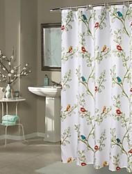 1PC 180*180cm Waterproof Mildew Thickened Cuckoo Bathroom Bathroom Bath Curtain Curtain Polyester