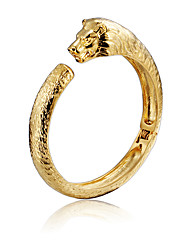 Kalen New Lion Charm Bracelets High Quality 316L Stainless Steel 18K Dubai Gold Plated Animal Lion Bangles For Men Hip Hop Accessory Gifts