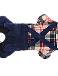 Dog Coat Dog Clothes Cute Solid Blue
