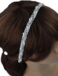 Women's Satin Headpiece-Wedding / Special Occasion Head Chain 1 Piece
