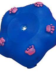 Dog Pet Toys Interactive Star Red / Blue / Pink / Orange Rubber