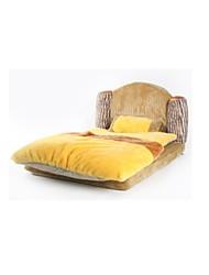 Cat / Dog Bed Pet Mats & Pads Pink / Yellow Fabric / Terylene