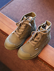 Boy's Boots Others Canvas Casual Brown / Yellow / Green / Pink
