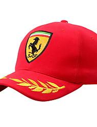 Men's and women's outdoor sports cap cap F1 driver car Grain embroidery baseball cap Breathable / Comfortable  BaseballSports