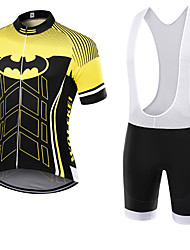 WOLFKEI Summer Cycling Jersey Short Sleeves BIB Shorts Ropa Ciclismo Cycling Clothing Suits #25