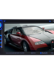 6,2 polegadas tela do monitor do carro TFT LCD HD de cor digital suporte carro Rear View Monitor VCD / DVD