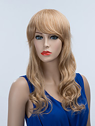 The Chic Long Capless Wigs Natural Wavy Human Hair