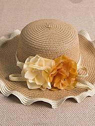 Fashion Wave Flower Big Hat Hat Hat Woman Hat Sun Hat