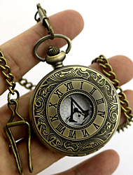 Video Game Stabber Style  Sign Alloy  Conner Silver Alloy Clock/Watch