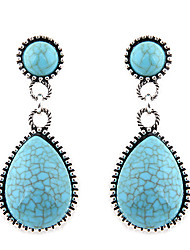 Drop Earrings Resin Alloy Fashion Drop Blue Jewelry Daily 1 pair